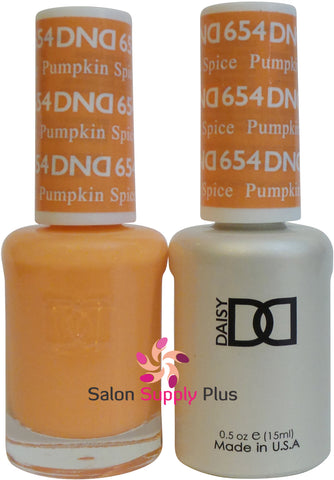 654 - DND Duo Gel - Pumpkin Spice