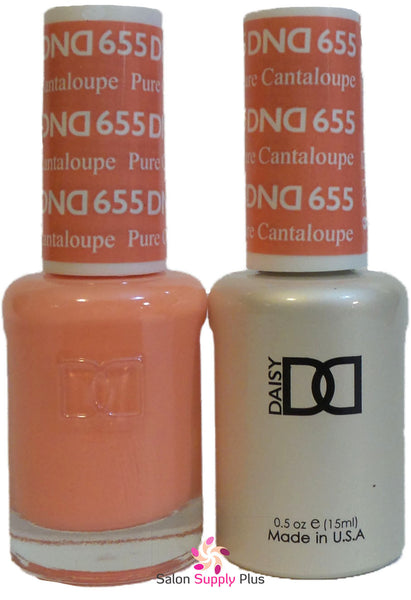 655 - DND Duo Gel - Pure Cantaloupe