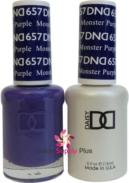 657 - DND Duo Gel - Monster Purple
