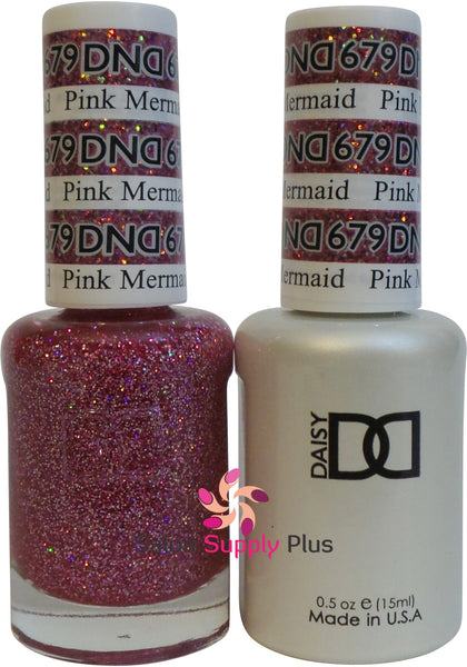679 -  DND Duo Gel - Pink Mermaid