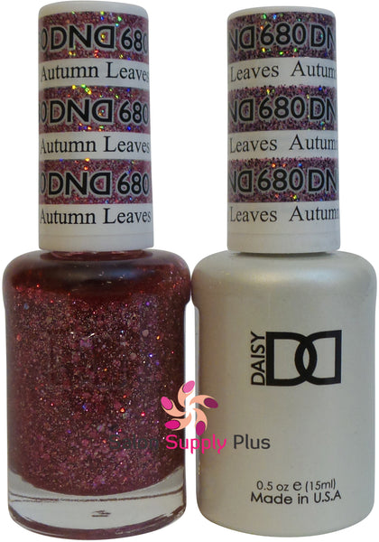 680 -  DND Duo Gel - Autumn Leaves