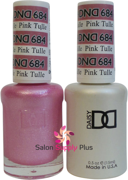 684 -  DND Duo Gel - Pink Tullie
