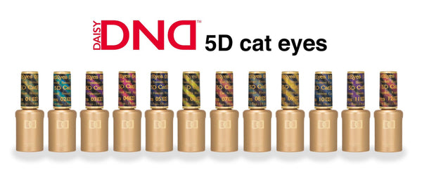 DND DC 5D CAT EYES COLLECTION - SET OF 12