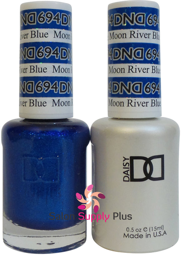 694 -  DND Duo Gel - Moon River Blue