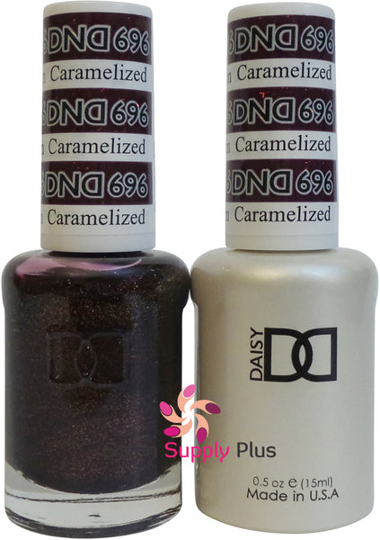 696 -  DND Duo Gel - Caramelized Plum