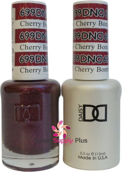 699 -  DND Duo Gel - Cherry Bomb