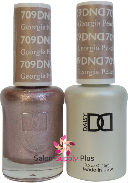 709 -  DND Duo Gel - Georgia Peach