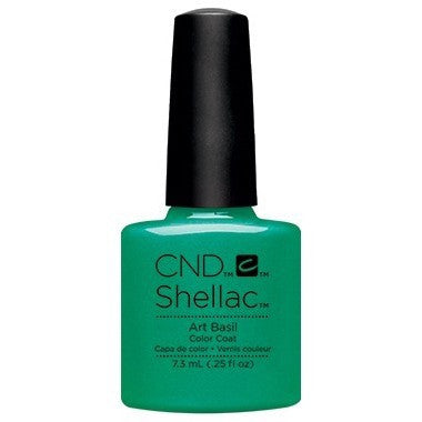 CND Shellac - Art Basil