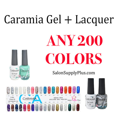 CARAMIA GEL + LACQUER - ANY 200 COLORS