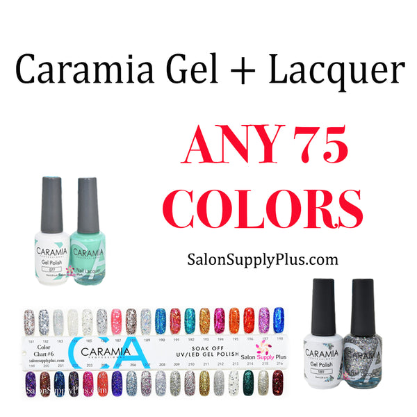 CARAMIA GEL + LACQUER - ANY 75 COLORS