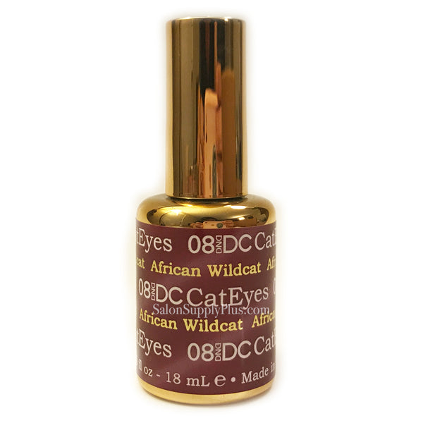 08 - DND Cat Eyes Gel - AFRICAN WILDCAT