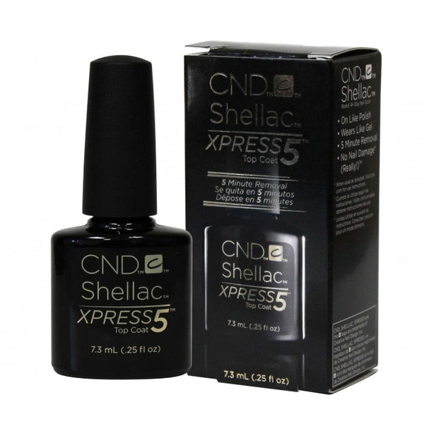 CND Shellac -Xpress 5 Top Coat - .25 fl oz