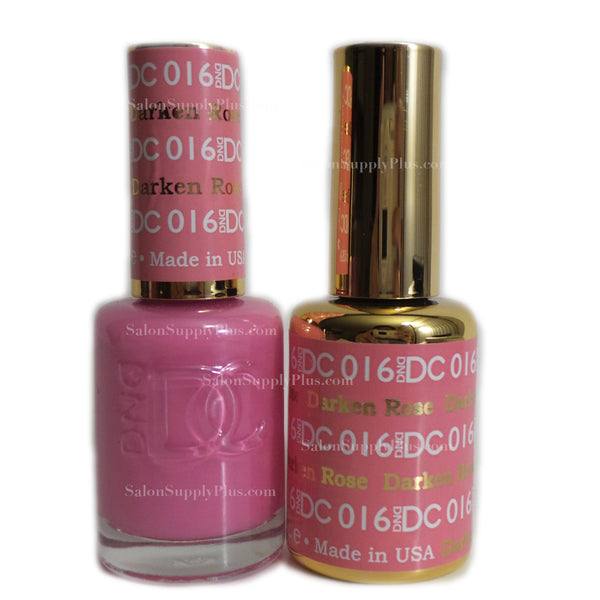016 - DND DC GEL - DARKEN ROSE