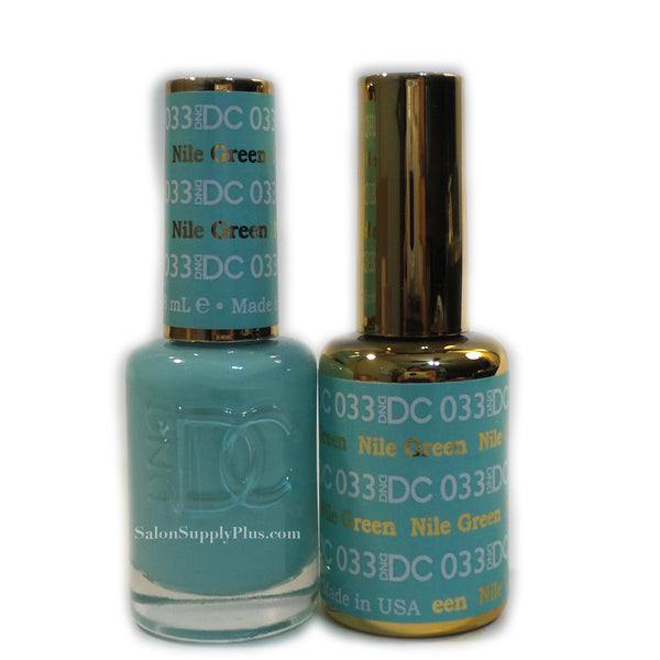 033 - DND DC GEL - NILE GREEN
