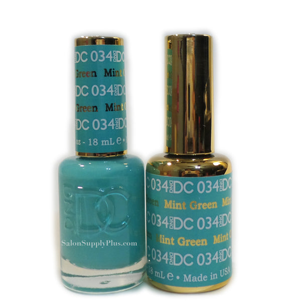 034 - DND DC GEL - MINT GREEN
