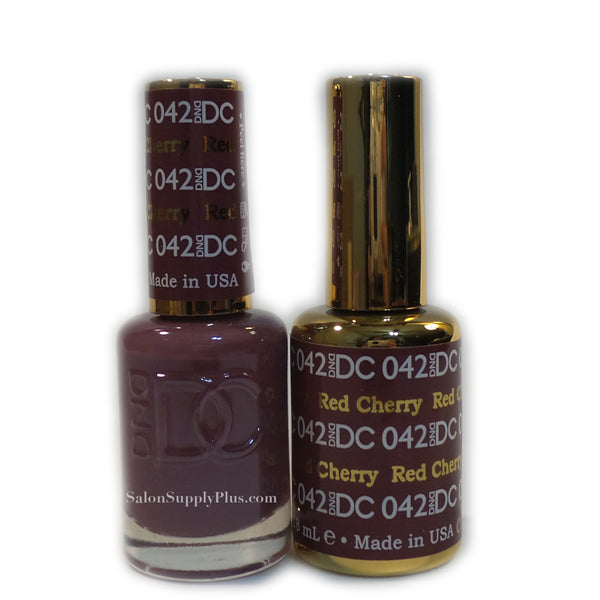 042 - DND DC GEL - RED CHERRY