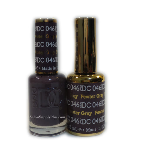 046 - DND DC GEL - PEWTER GRAY
