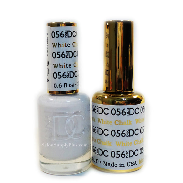 056 - DND DC GEL - WHITE CHALK