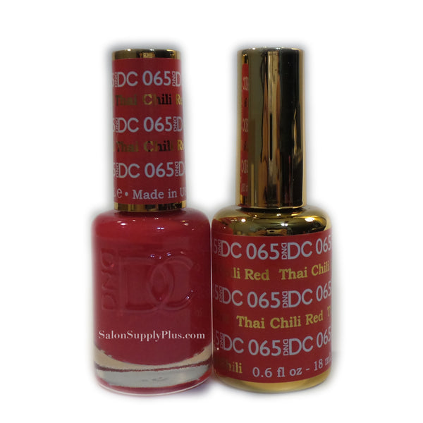 065 - DND DC GEL - THAI CHILLI RED