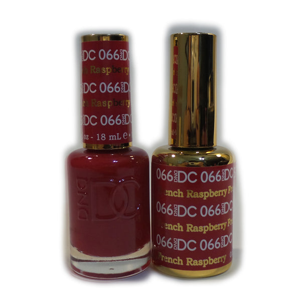 066 - DND DC GEL - FRENCH RASPBERRY