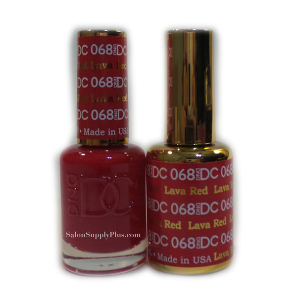 068 - DND DC GEL - LAVA RED