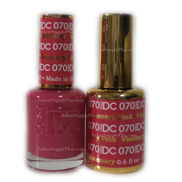 070 - DND DC GEL - VISIONARY PINK