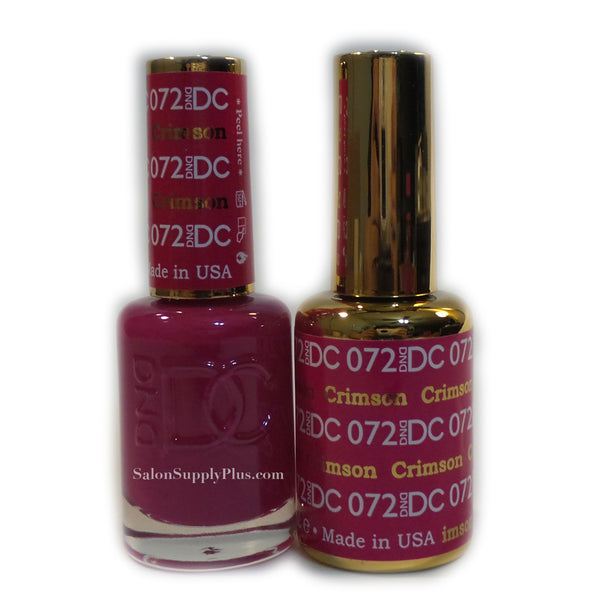 072 - DND DC GEL - CRIMSON