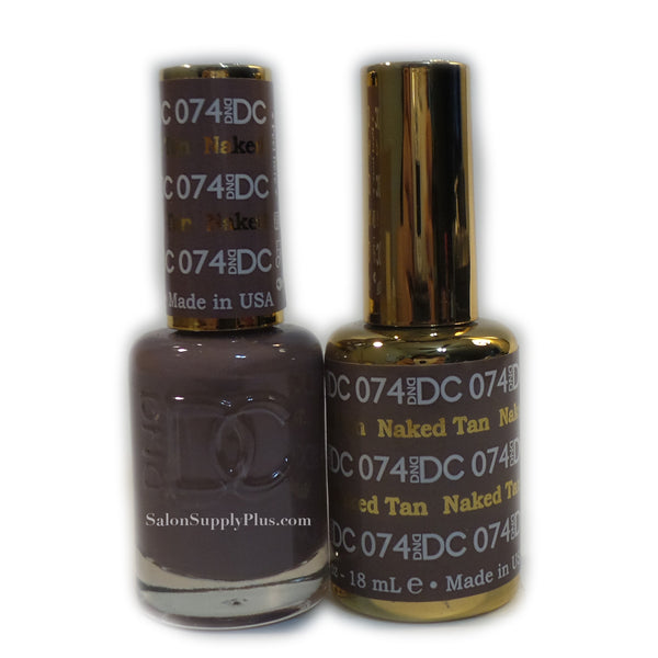 074 - DND DC GEL - NAKED TAN