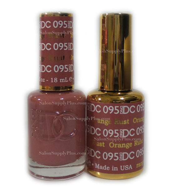 095 - DND DC GEL - ORANGE RUST