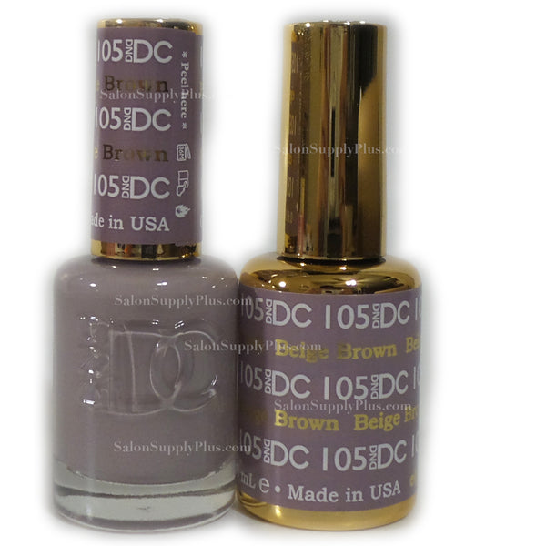 105 - DND DC GEL - BEIGE BROWN