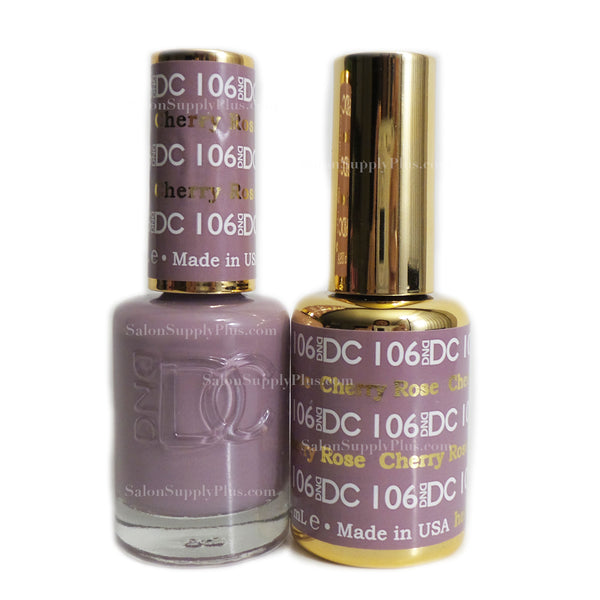 106 - DND DC GEL - CHERRY ROSE