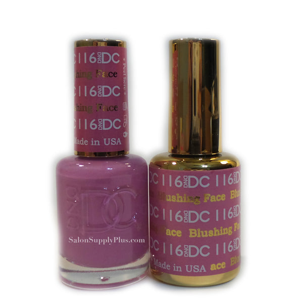 116 - DND DC GEL - BLUSHING FACE