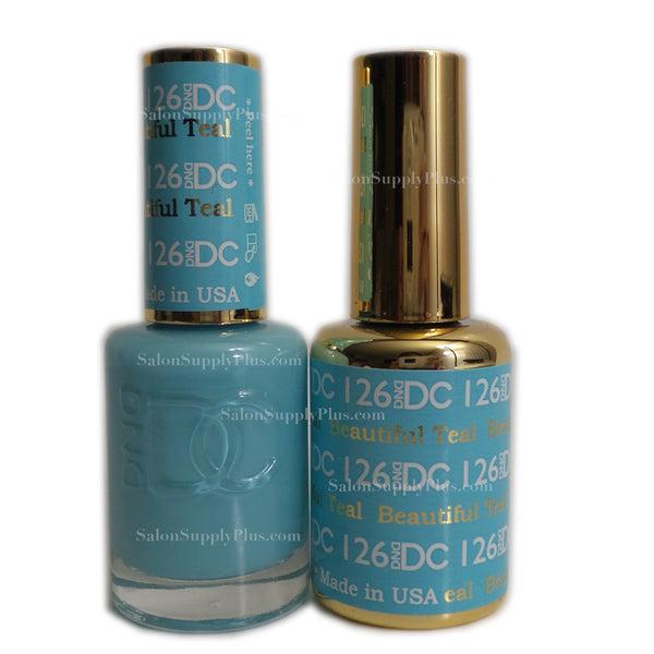 126 - DND DC GEL - BEAUTIFUL TEAL