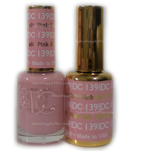 139 - DND DC GEL - PINK SALT