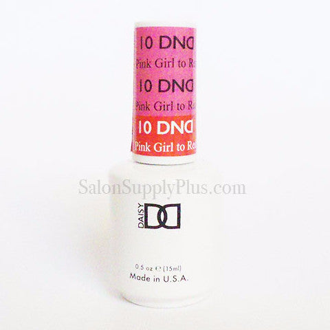 10 - DND Mood Gel - Pink Girl to Red