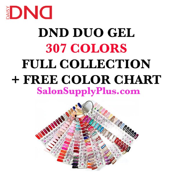 DND Duo Gel - Complete 307 Colors Collection