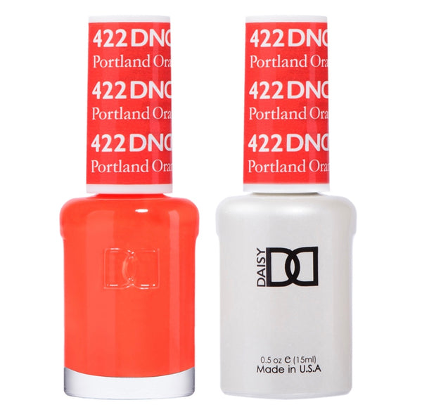 422 - DND Duo Gel - Portland Orange