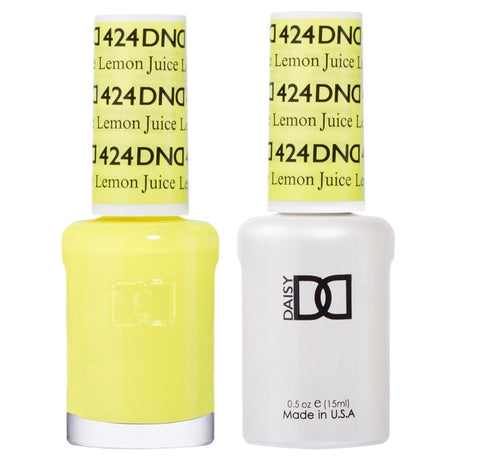 424 - DND Duo Gel - Lemon Juice