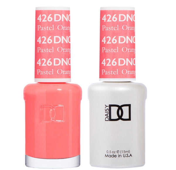 426 - DND Duo Gel - Pastel Orange