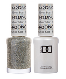 442 - DND Duo Gel - Silver Star