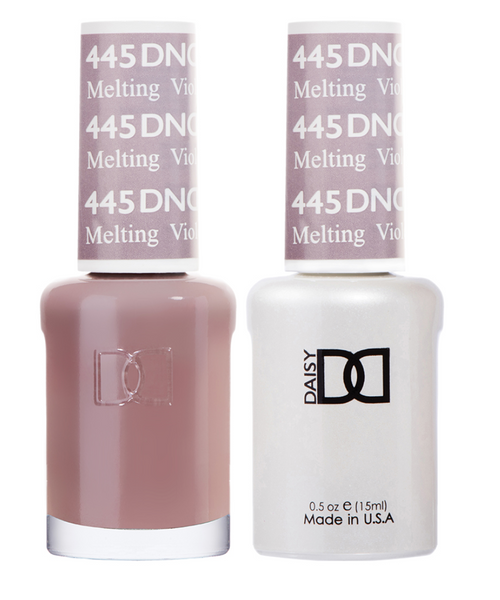 445 - DND Duo Gel - Melting Violet