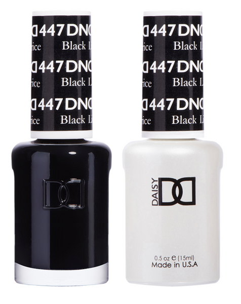 447 - DND Duo Gel- Black Licorice