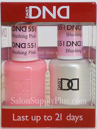 551- DND Duo Gel - Blushing Pink