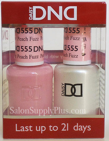 555 - DND Duo Gel - Peach Fuzz