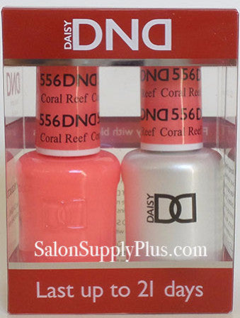 556 - DND Duo Gel - Coral Reef