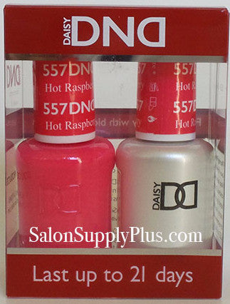 557 - DND Duo Gel - Hot Raspberry
