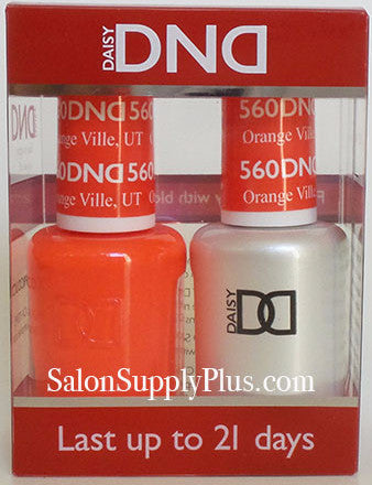 560 - DND Duo Gel - Orange Ville, UT