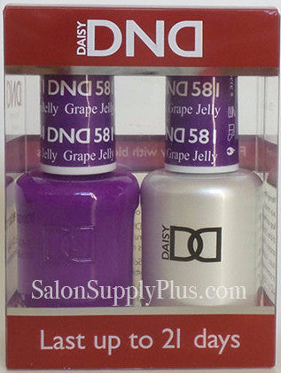 581 - DND Duo Gel - Grape Jelly
