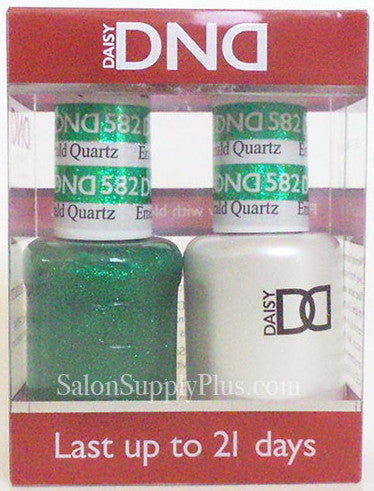 582 - DND Duo Gel - Emerald Quartz