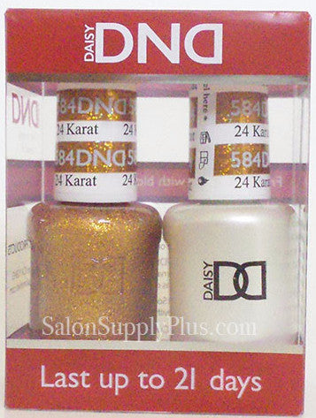 584 - DND Duo Gel - 24K Karat